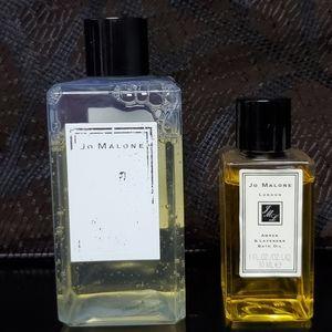 Jo Malone Amber & Lavender Bath oil & Shampoo
